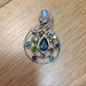 Jewelry - Gemstone decorative pin / brooch